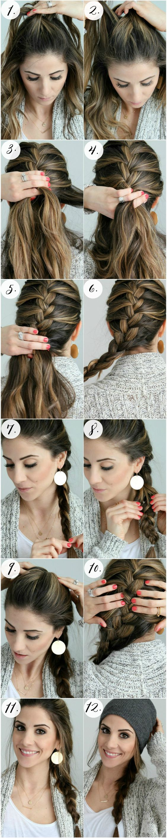 19 Easy Hair Tutorials for Summer 2017 - Pretty Designs