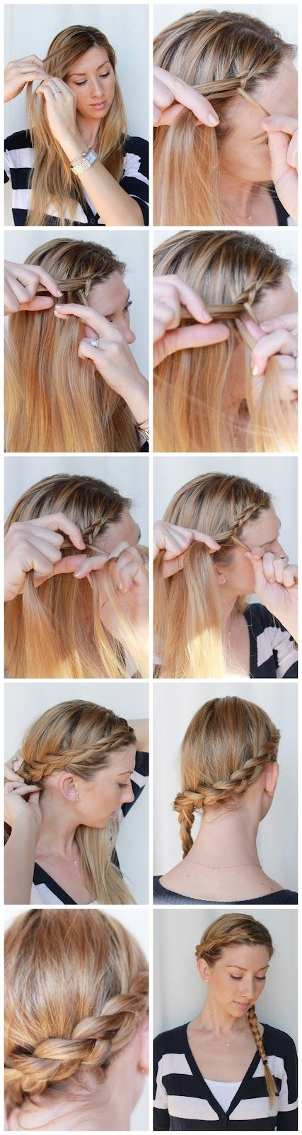 Small Wrap Around Braid via