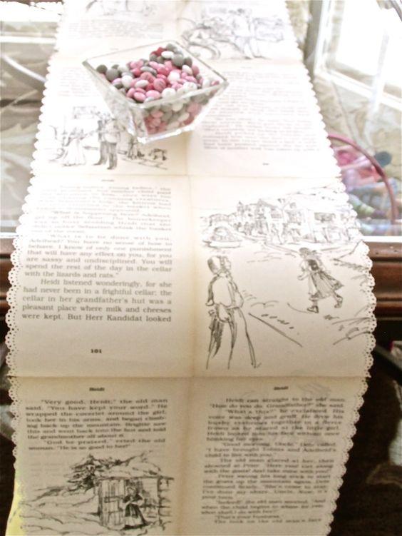 Story Book Table Runner via
