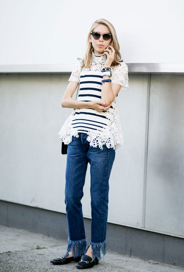 Stylish Striped Top via