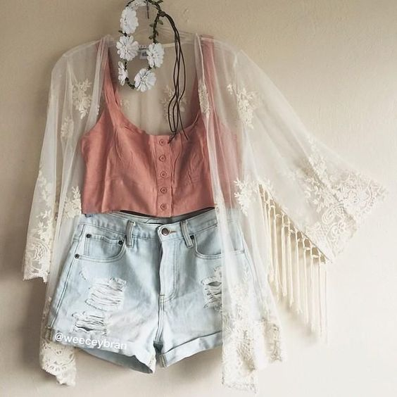 Summer Cute Outfit via