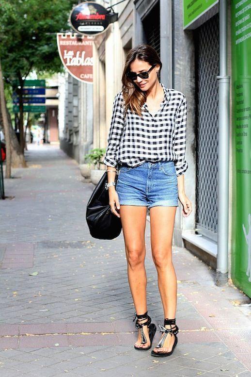 20 mooie ideeën voor het dragen van een zomerbroek Outfits  zomerbroek mooie ideeen dragen