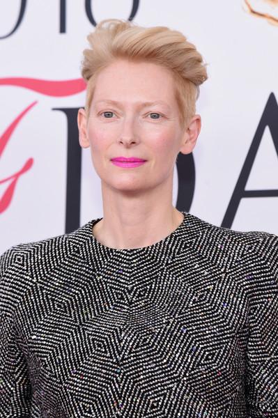 Tilda Swinton Wind-blown Haircut via stylebistro
