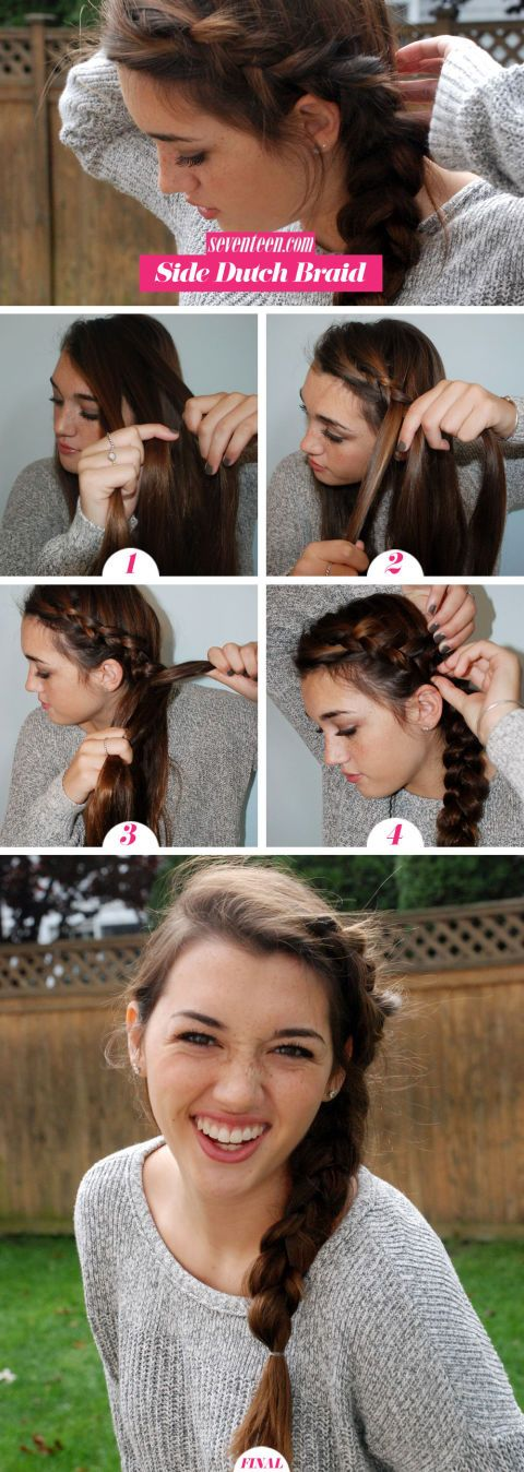 Wrap Around Side Braid via