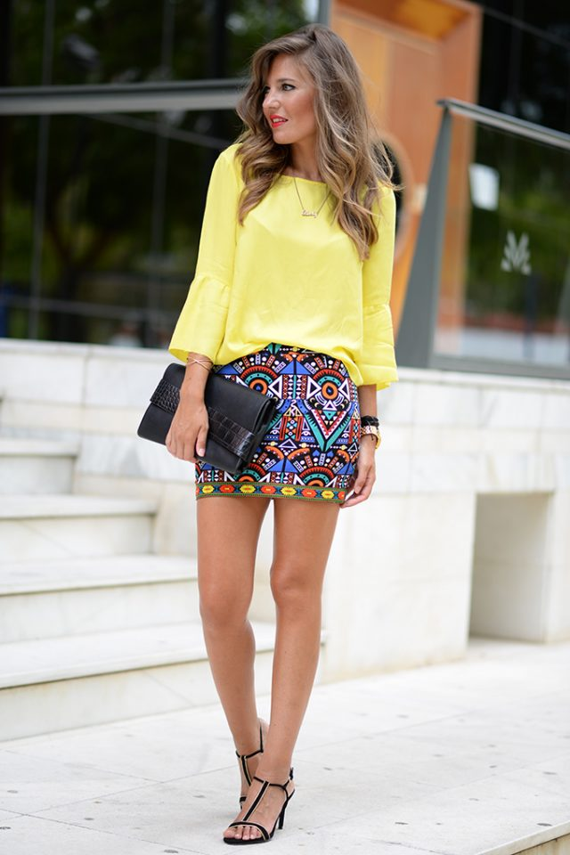 18 Ideas to Pair Your Mini Skirts - Pretty Designs