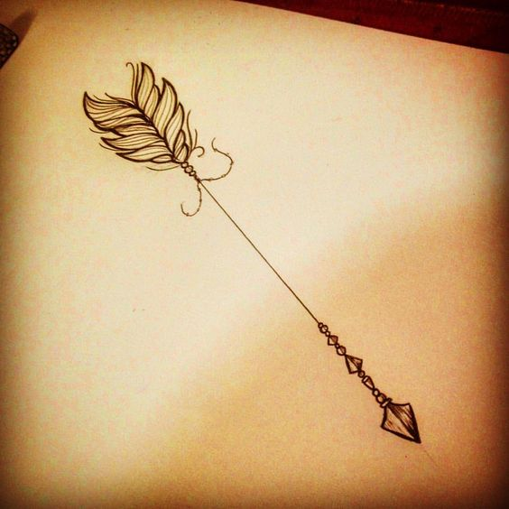 arrow feather
