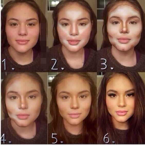 How to Use Makeup to Make Your Face Look Thinner