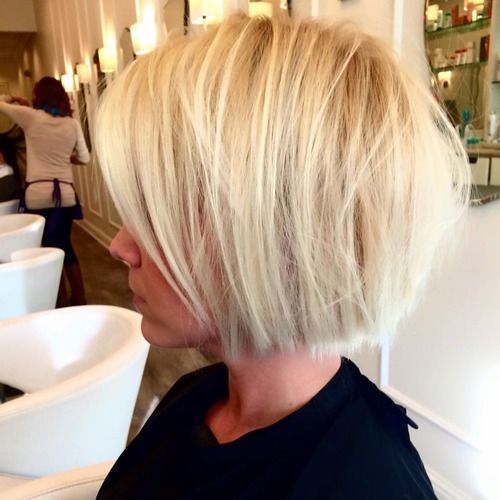 18 Popular Blunt Bob Hairstyles for Short Hair - Short Bob
