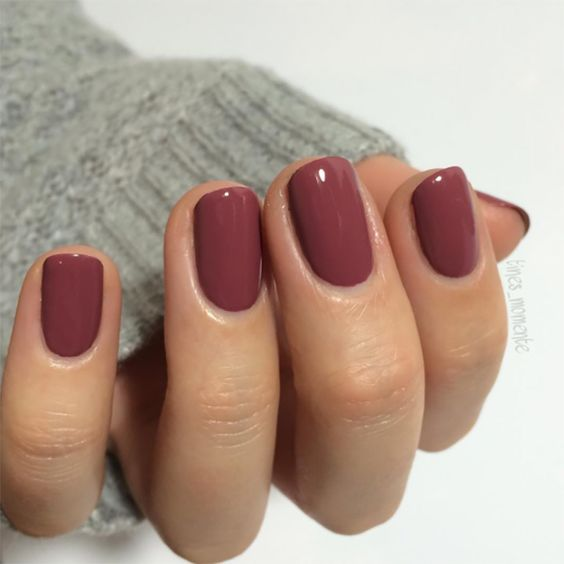 Nail design for fall