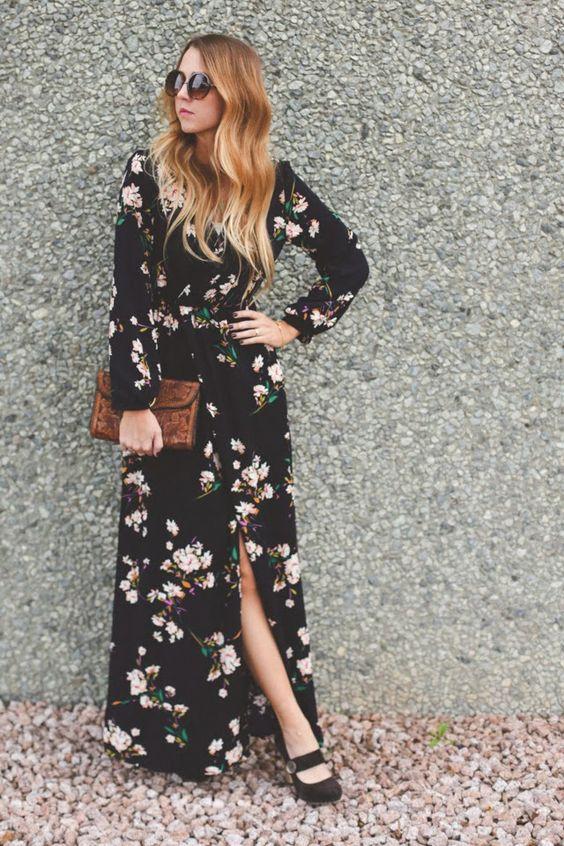 Black Maxi Dress via
