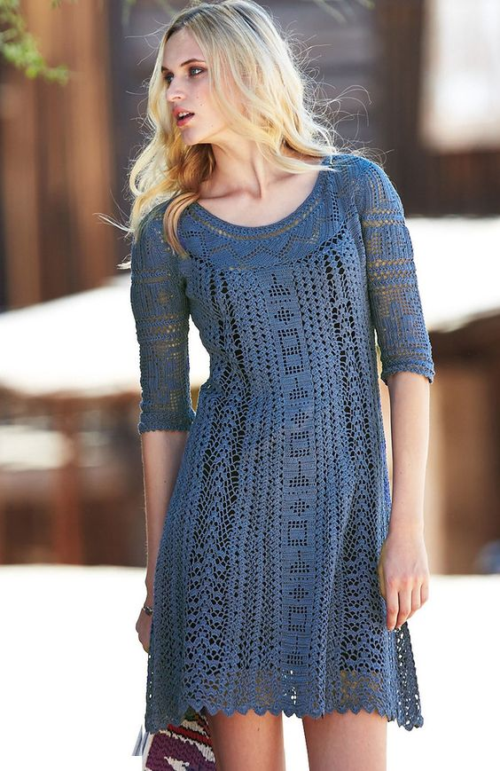 19 Gorgeous Outfit ideas to Style Crochet Clothing - Pretty Designs