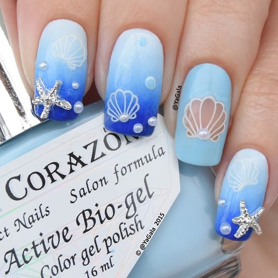 Blue Ocean Nails via