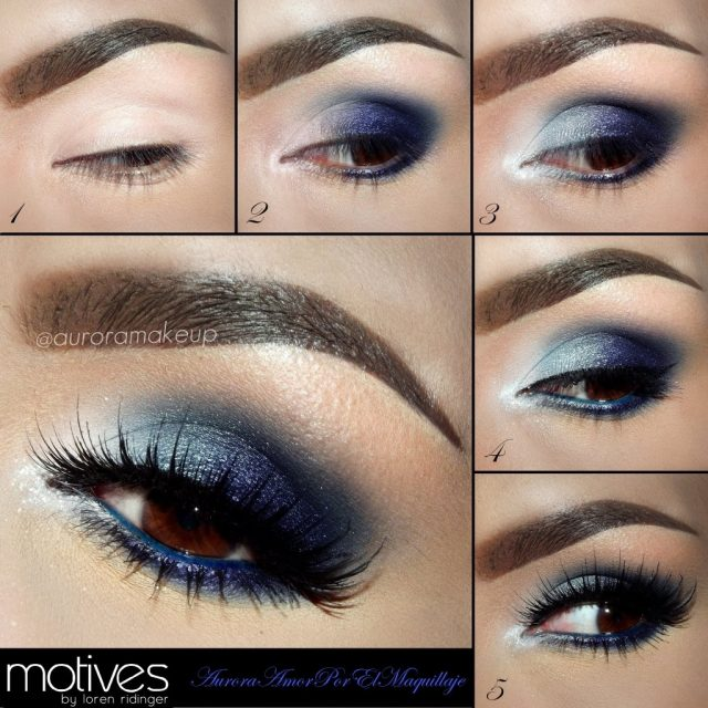 Blue Smoky Eyes via