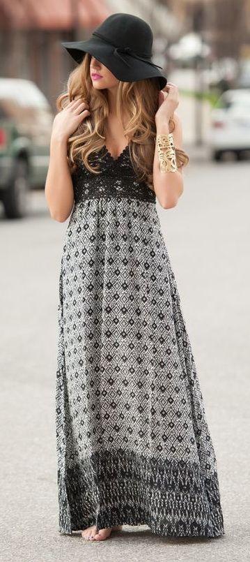 Boho Maxi Dress via
