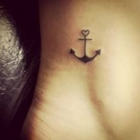 Cute Anchor Tattoo Designs