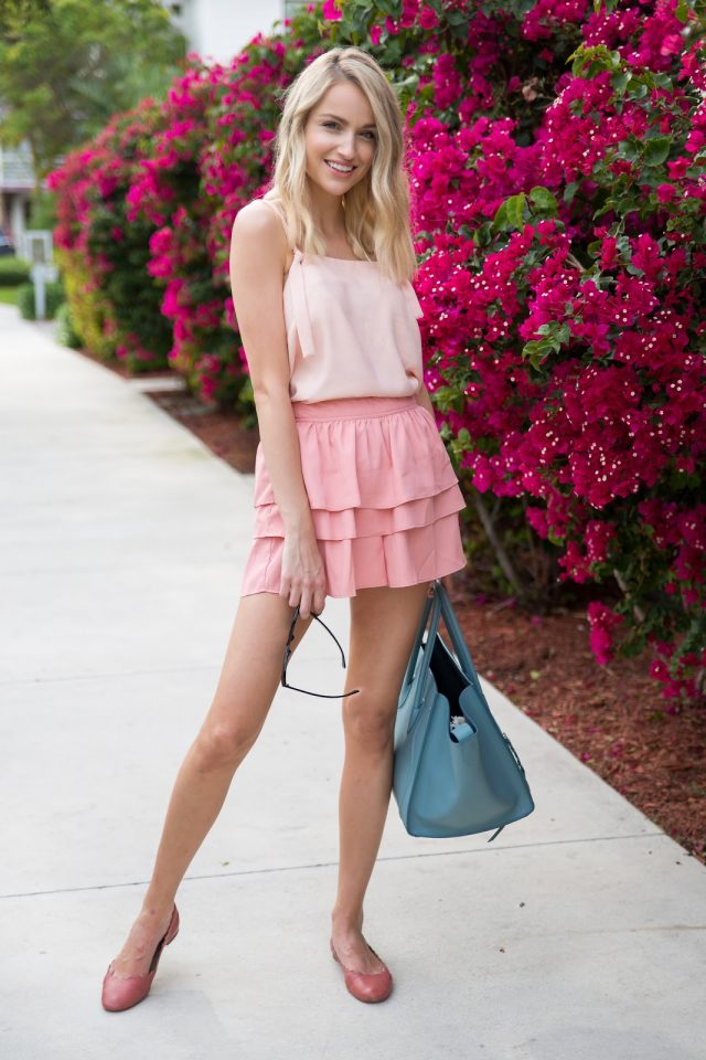 Cute Pink Outfit via