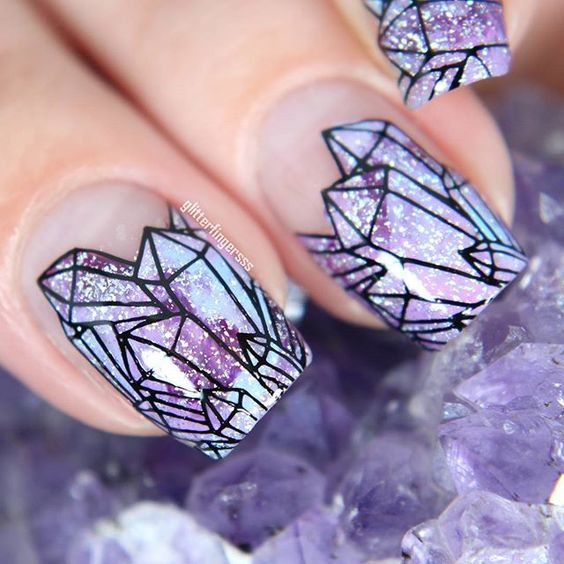 Diamond Nails via