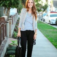 20 Office Outfits with Cropped Pants for Early Fall d684cde85