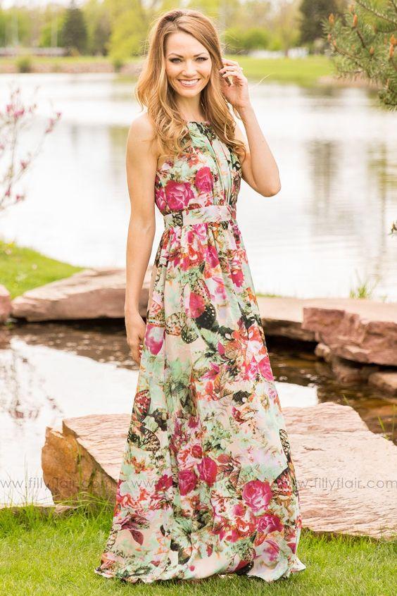Elegant Maxi Dress via