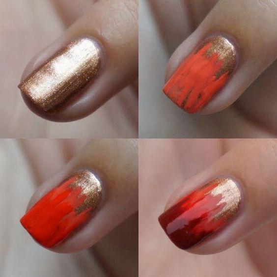 Fall Nail Idea via
