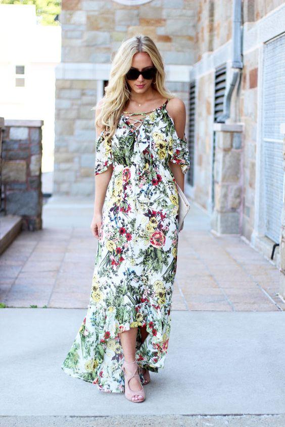 Floral Maxi Dress via