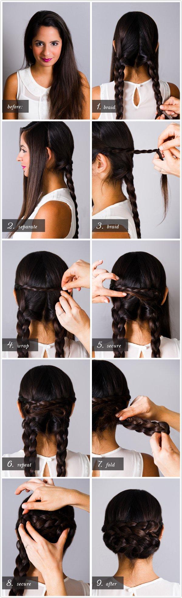 12 Easy Hair-zelfstudies voor mooie looks