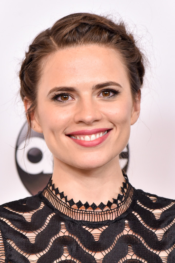 Hayley Atwell Crown Braid via