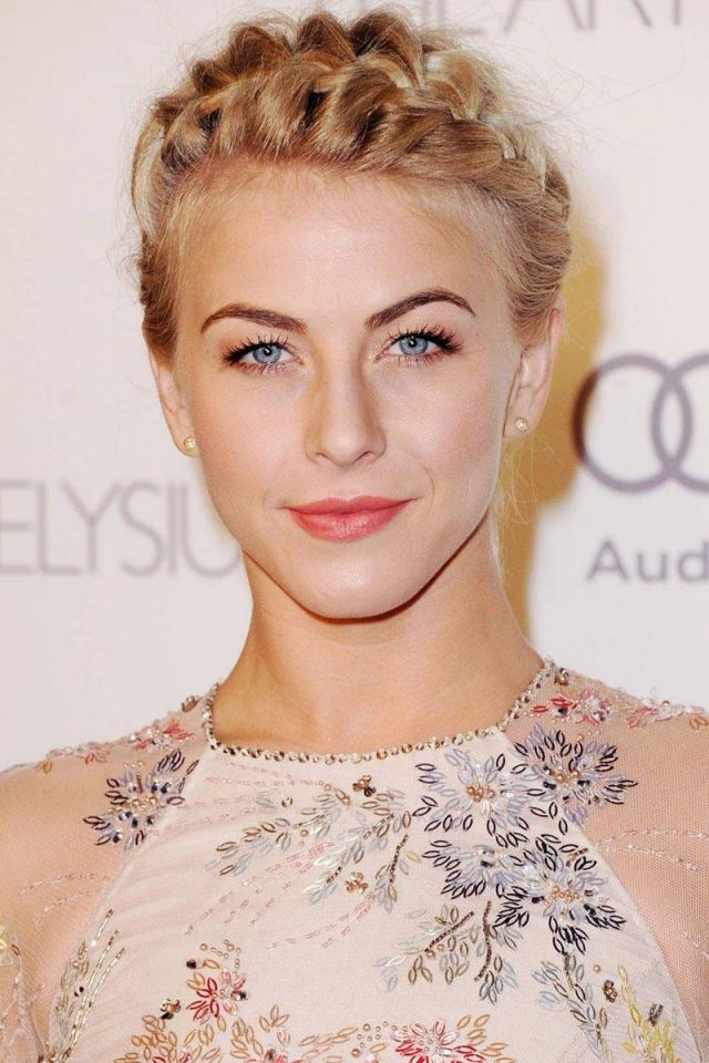 Julianne Hough Crown Braid via