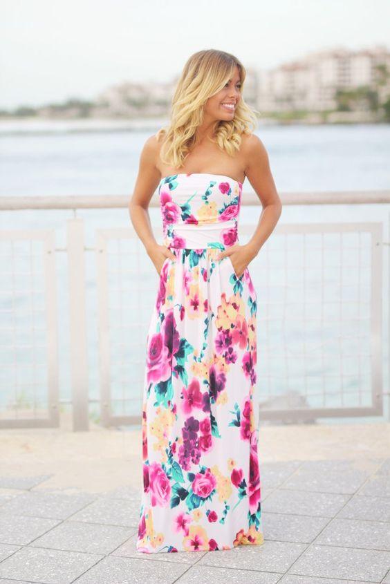 Maxi Dress with Pockets via