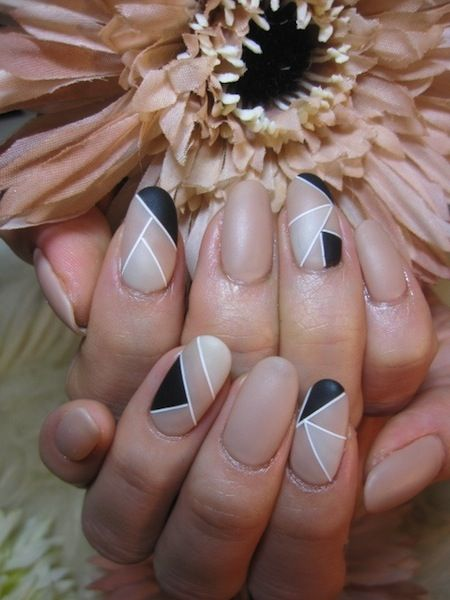 Nude Nails via.