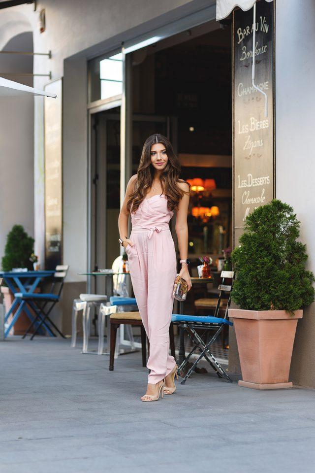 Pink Jumpsuit via