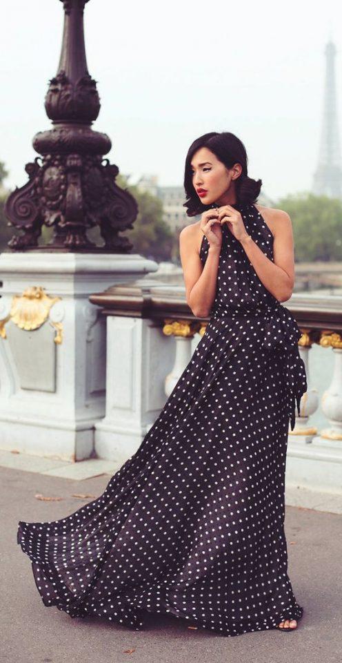 Polka Dot Dress via