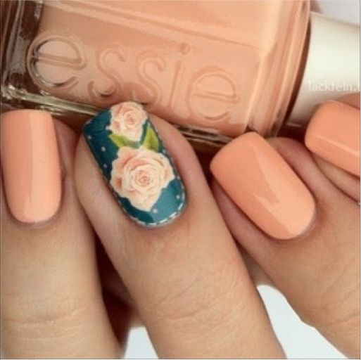 Rose Nails via