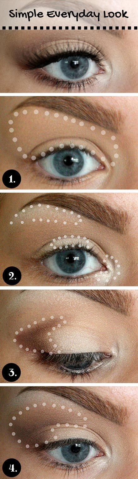 Simple Eye Makeup via