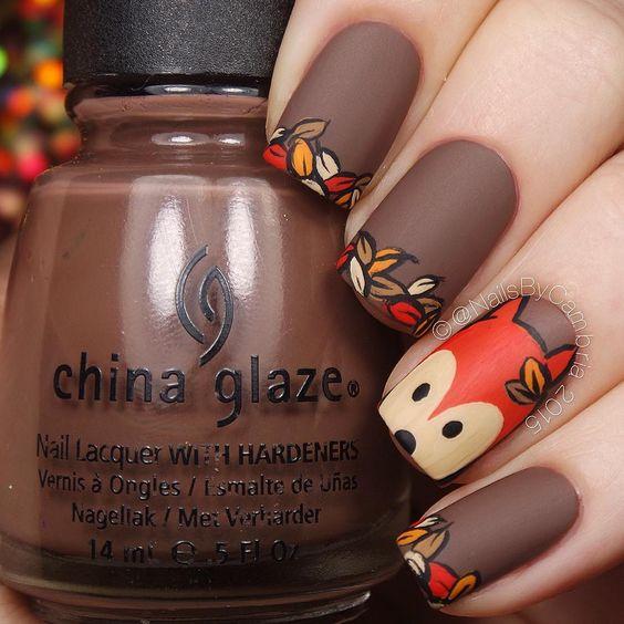 Squirrel Nails via