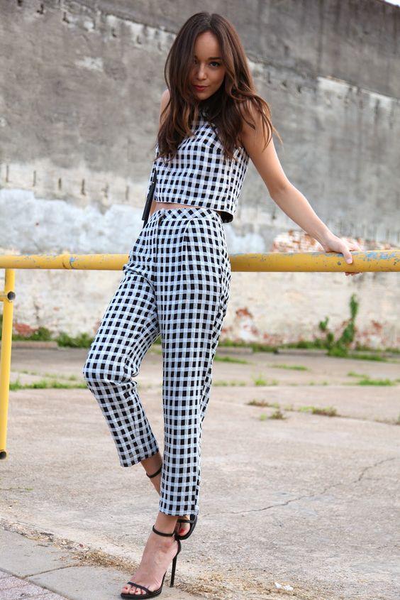 Tartan Outfit via