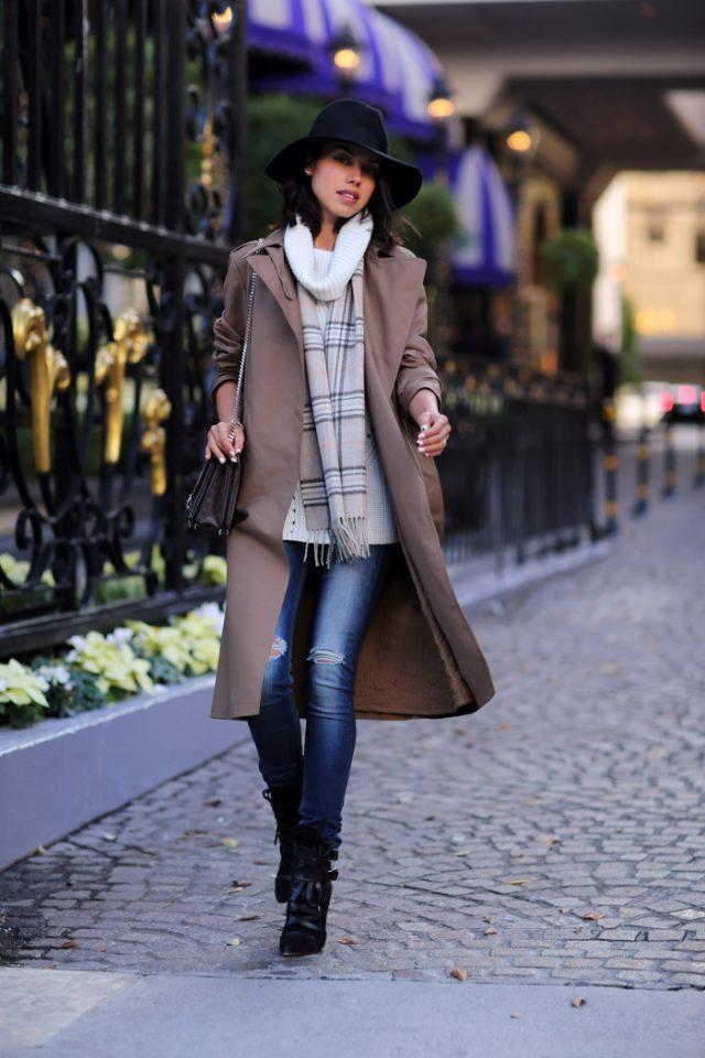 Trench Coat for Winter via