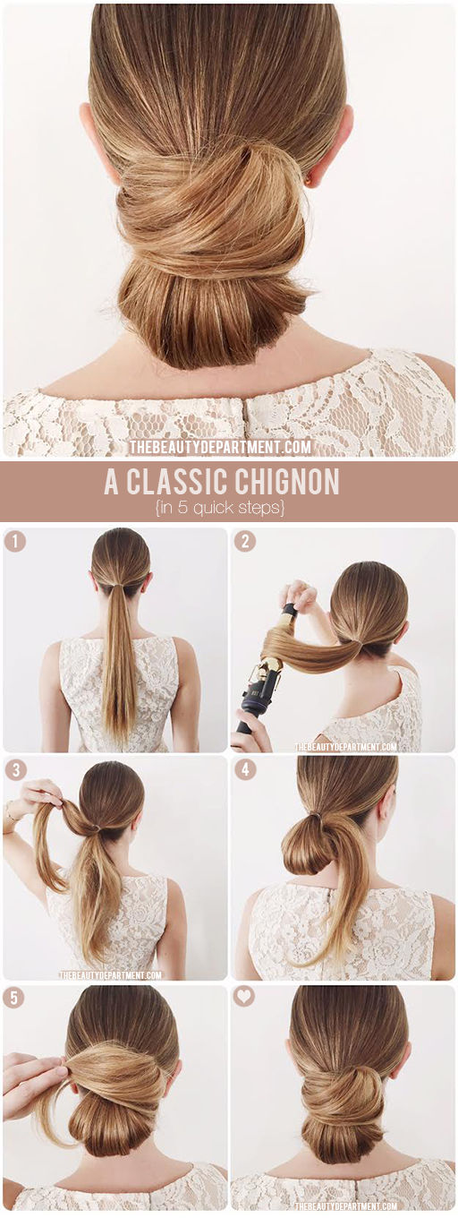Wrap Chignon via