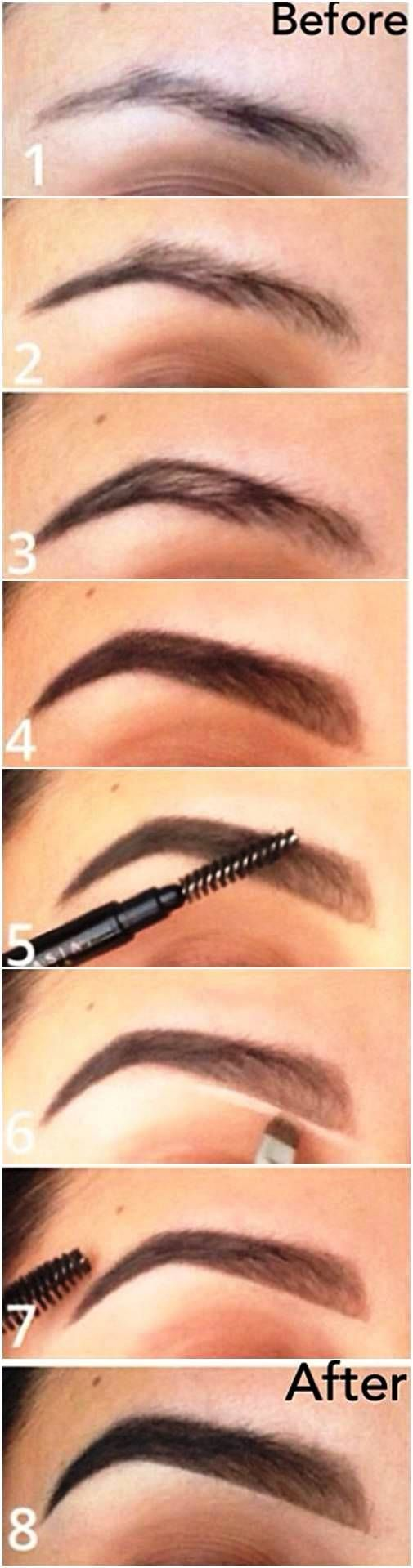 How To Get The Perfect Bomb Brows For Beginners Pretty Designs