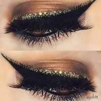 How to Wear Liquid Glitter Eyeliner