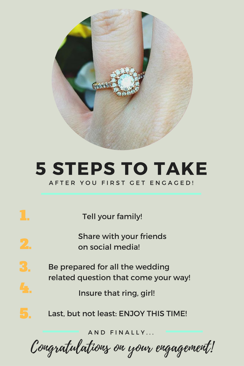 You Just Got Engaged? Here Are 5 Steps To Take Right Now! Liefde  bezet