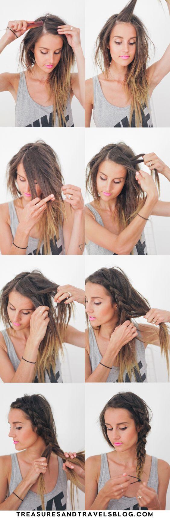 7 En İyi Tembel Gün Saç Modelleri