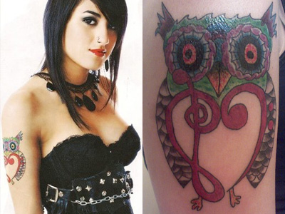 anissa-rodriguez-owl-tattoo-on-the-arm