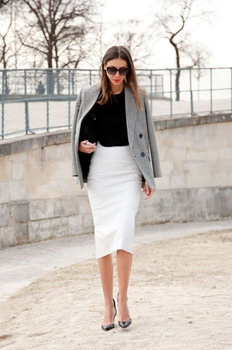20 Pencil Skirt Styles You Want to Try for Weekdays - Pretty Designs