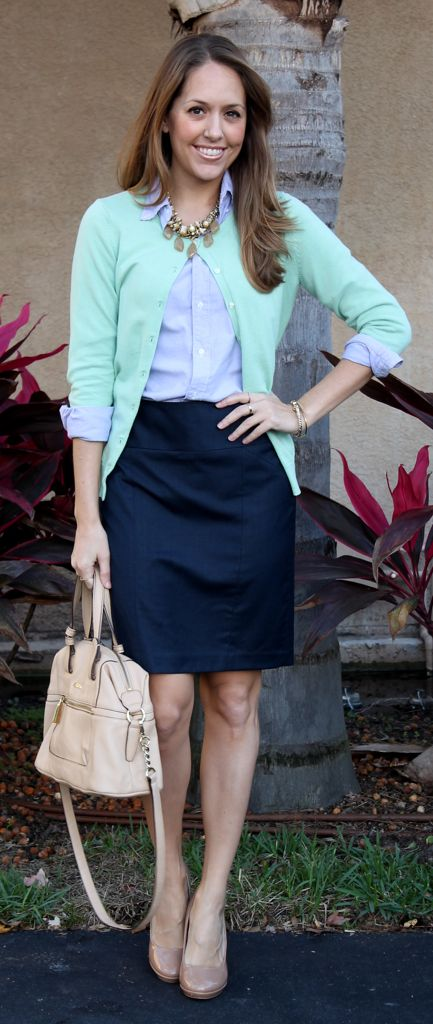 20 Pencil Skirt Styles You Want To Try For Weekdays