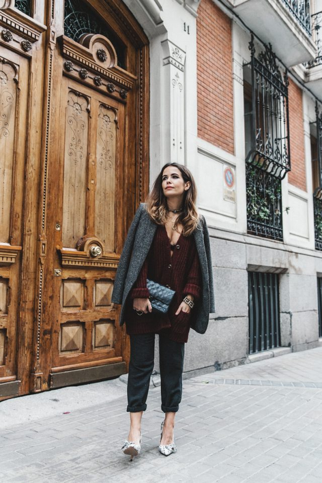 burgundy-cardigan-for-winter via
