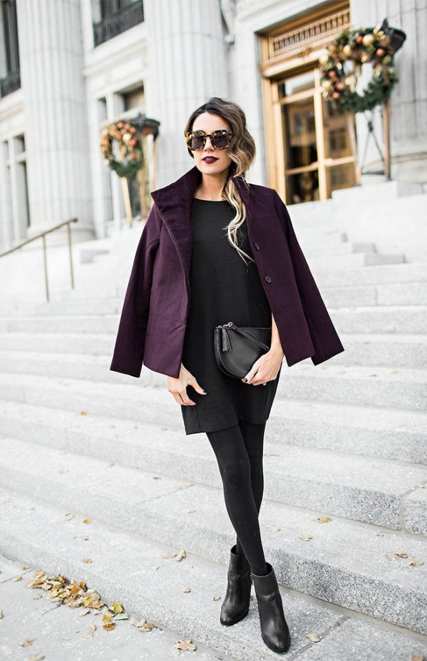 burgundy-coat-and-all-black-base via