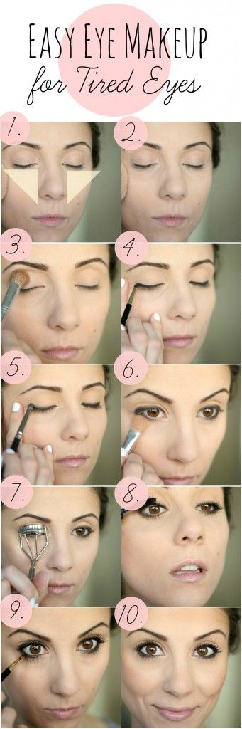 easy-eye-makeup-for-tired-eyes via