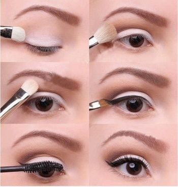 easy-white-eye-makeup via