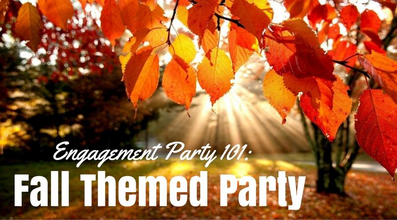 Verlovingsfeest 101: Fall Themed Party Liefde  verloving